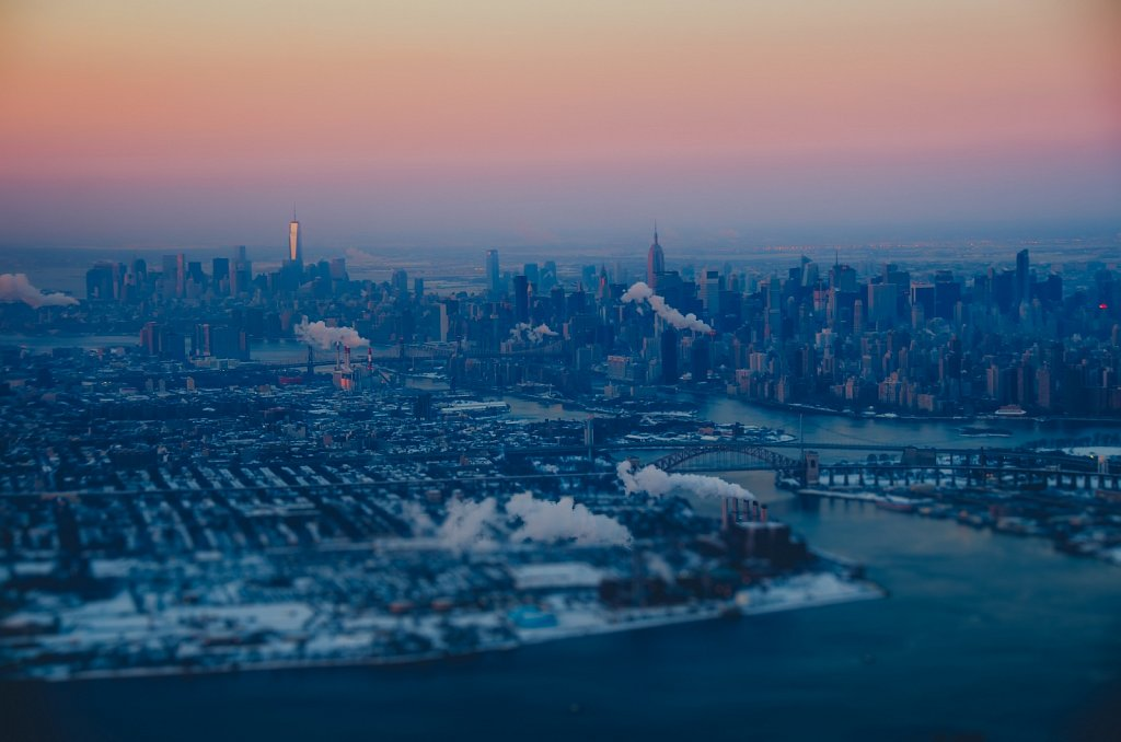 Cold morning above NYC #04