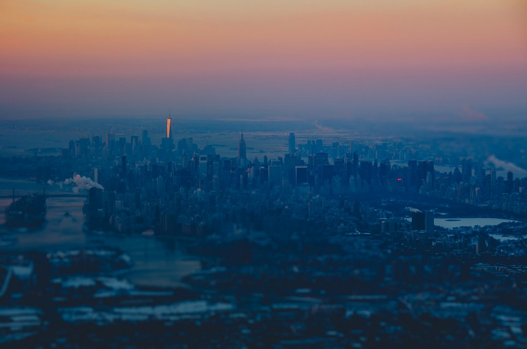 Cold morning above NYC #05